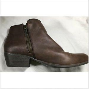 ESPRIT Tori-E Brown Vegan Leather Ankle Boots 6M